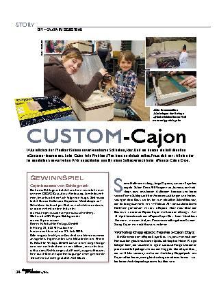 Custom-Cajon