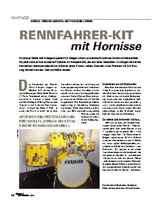 Rennfahrer-Kit mit Hornisse