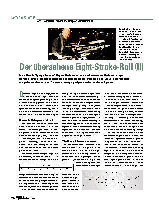 Der übersehene Eight-Stroke-Roll (II)