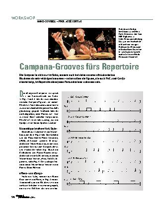 Campana-Grooves fürs Repertoire