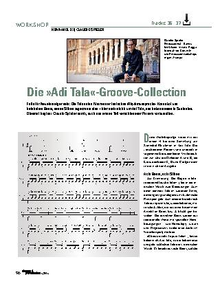 Die »Adi Tala«-Groove-Collection