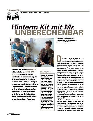 Hinterm Kit mit Mr. UNBERECHENBAR