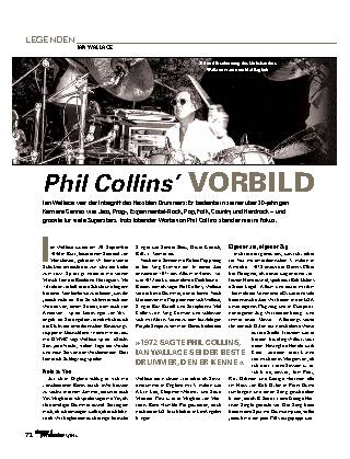 Phil Collins' VORBILD