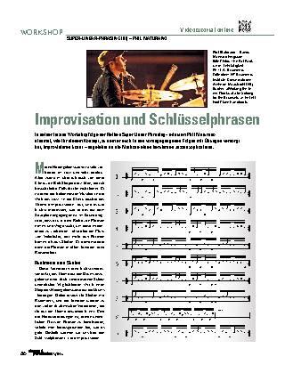 Improvisation und Schlüsselphrasen