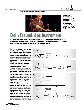 Dein Freund, das Instrument