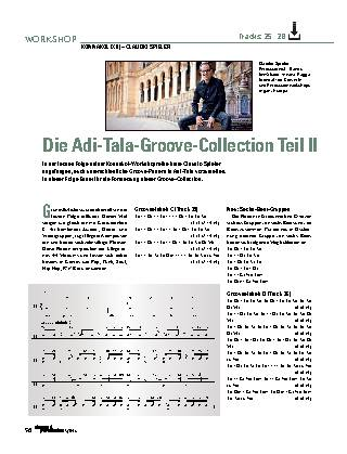 Die Adi-Tala-Groove-Collection Teil II