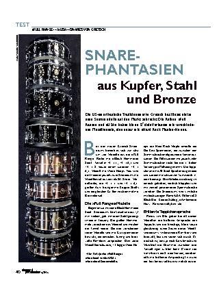 SNARE-PHANTASIEN aus Kupfer, Stahl und Bronze