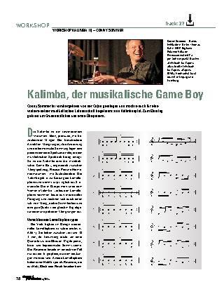 Kalimba, der musikalische Game Boy