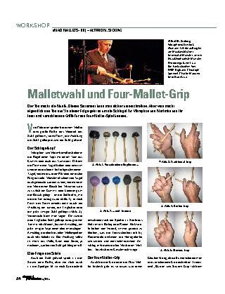 Malletwahl und Four-Mallet-Grip