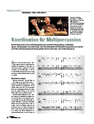 Koordination für Multipercussion