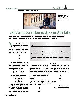 »Rhythmus-Zahlenmystik« in Adi Tala