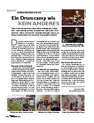 Ein Drumcamp wie KEIN ANDERES