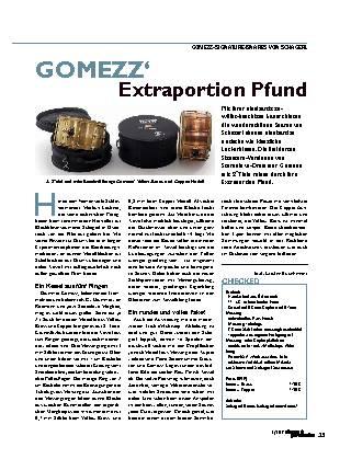 GOMEZZ' Extraportion Pfund