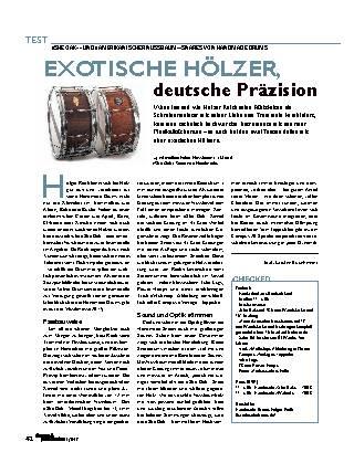EXOTISCHE HÖLZER, deutsche Präzision