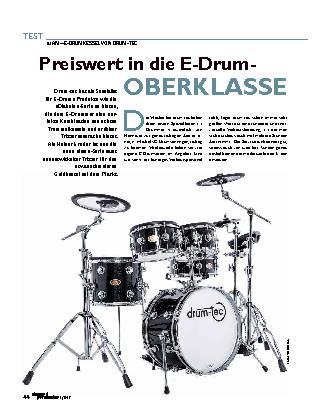 Preiswert in die E-Drum-OBERKLASSE