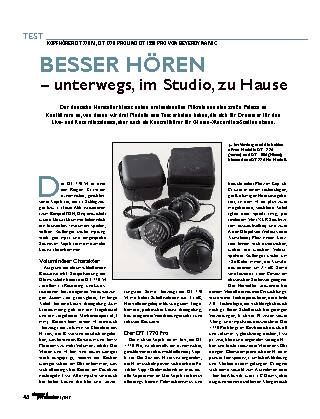 BESSER HÖREN – unterwegs, im Studio, zu Hause