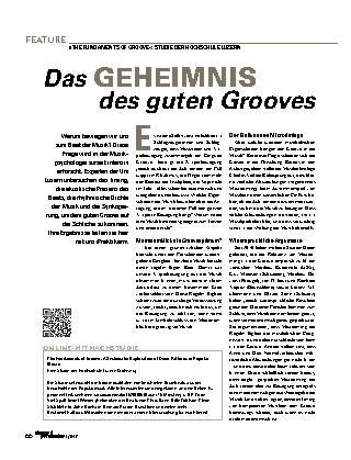 Das GEHEIMNIS des guten Grooves