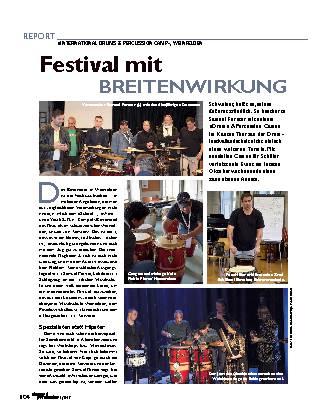 Festival mit BREITENWIRKUNG