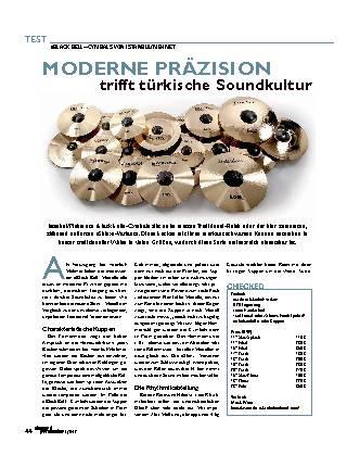 MODERNE PRÄZISION trifft türkische Soundkultur