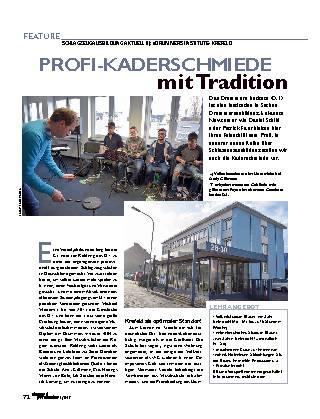 PROFI-KADERSCHMIEDE mit Tradition