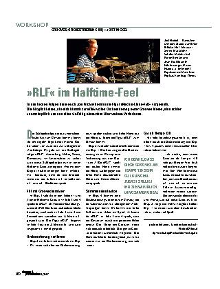 »RLF« im Halftime-Feel