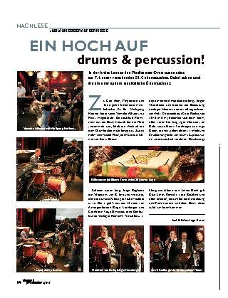 EIN HOCH AUF drums & percussion!