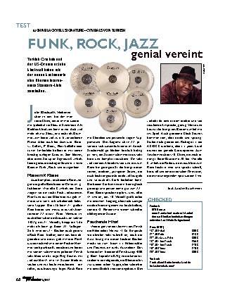 FUNK, ROCK, JAZZ genial vereint