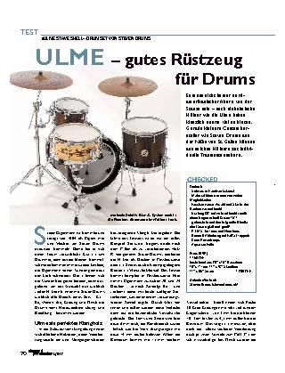 ULME – gutes Rüstzeug für Drums
