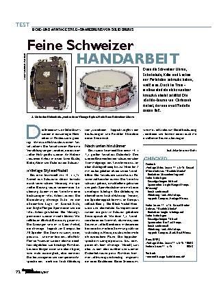 Feine Schweizer HANDARBEIT