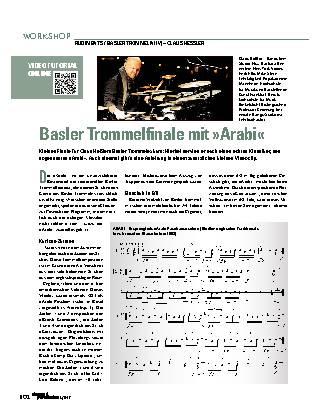 Basler Trommelfinale mit »Arabi«