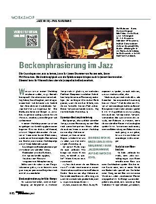 Beckenphrasierung im Jazz