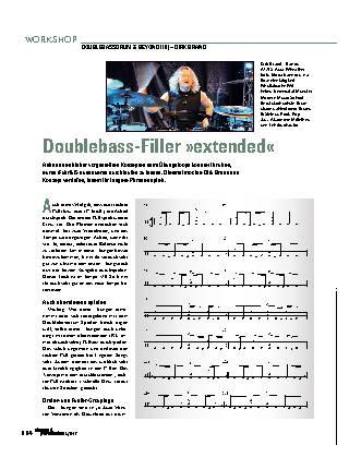 Doublebass-Filler »extended«
