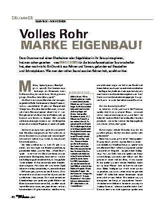 Volles Rohr MARKE EIGENBAU!