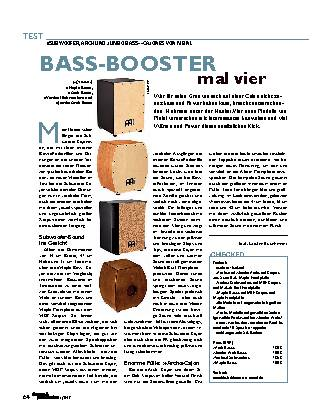 BASS-BOOSTER mal vier
