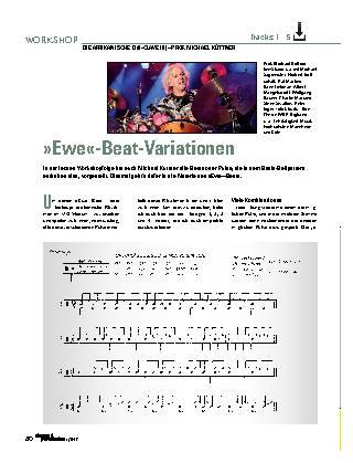 »Ewe«-Beat-Variationen