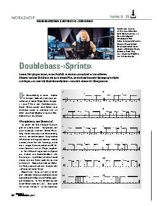 Doublebass-›Sprints‹