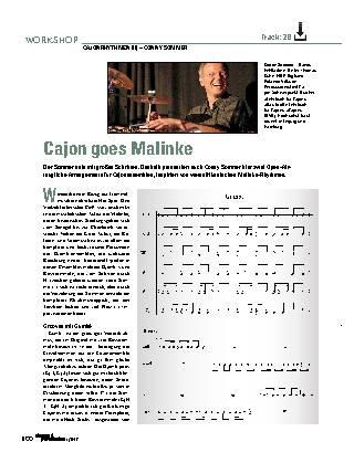 Cajon goes Malinke