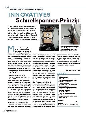 INNOVATIVES Schnellspanner-Prinzip
