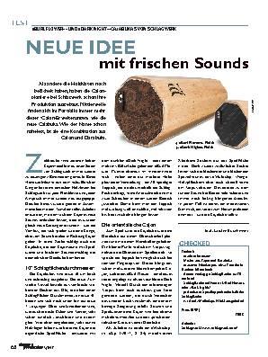 NEUE IDEE mit frischen Sounds