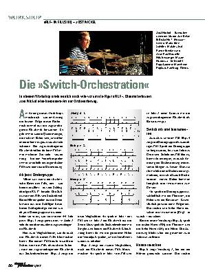 Die »Switch-Orchestration«