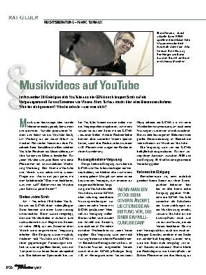 Musikvideos auf YouTube