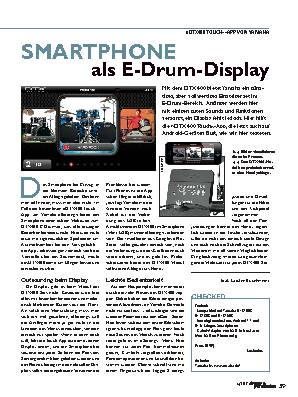 SMARTPHONE als E-Drum-Display