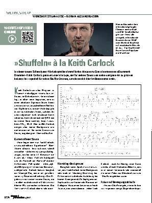 Shuffeln« à la Keith Carlock