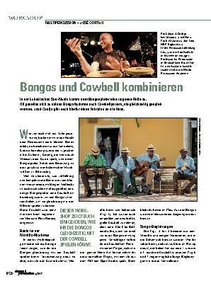 Bongos und Cowbell kombinieren