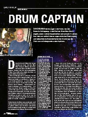 DRUM CAPTAIN