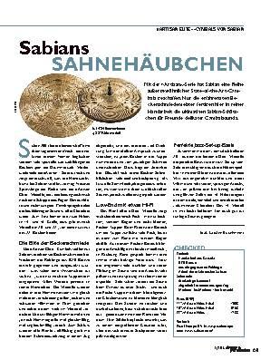 Sabians SAHNEHÄUBCHEN