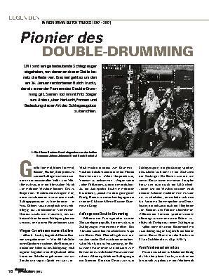 Pionier des DOUBLE-DRUMMING