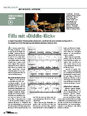Fills mit »Diddle-Kick«
