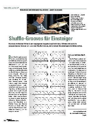 Shuffle-Grooves für Einsteiger