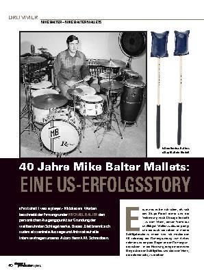 40 Jahre Mike Balter Mallets: EINE US-ERFOLGSSTORY